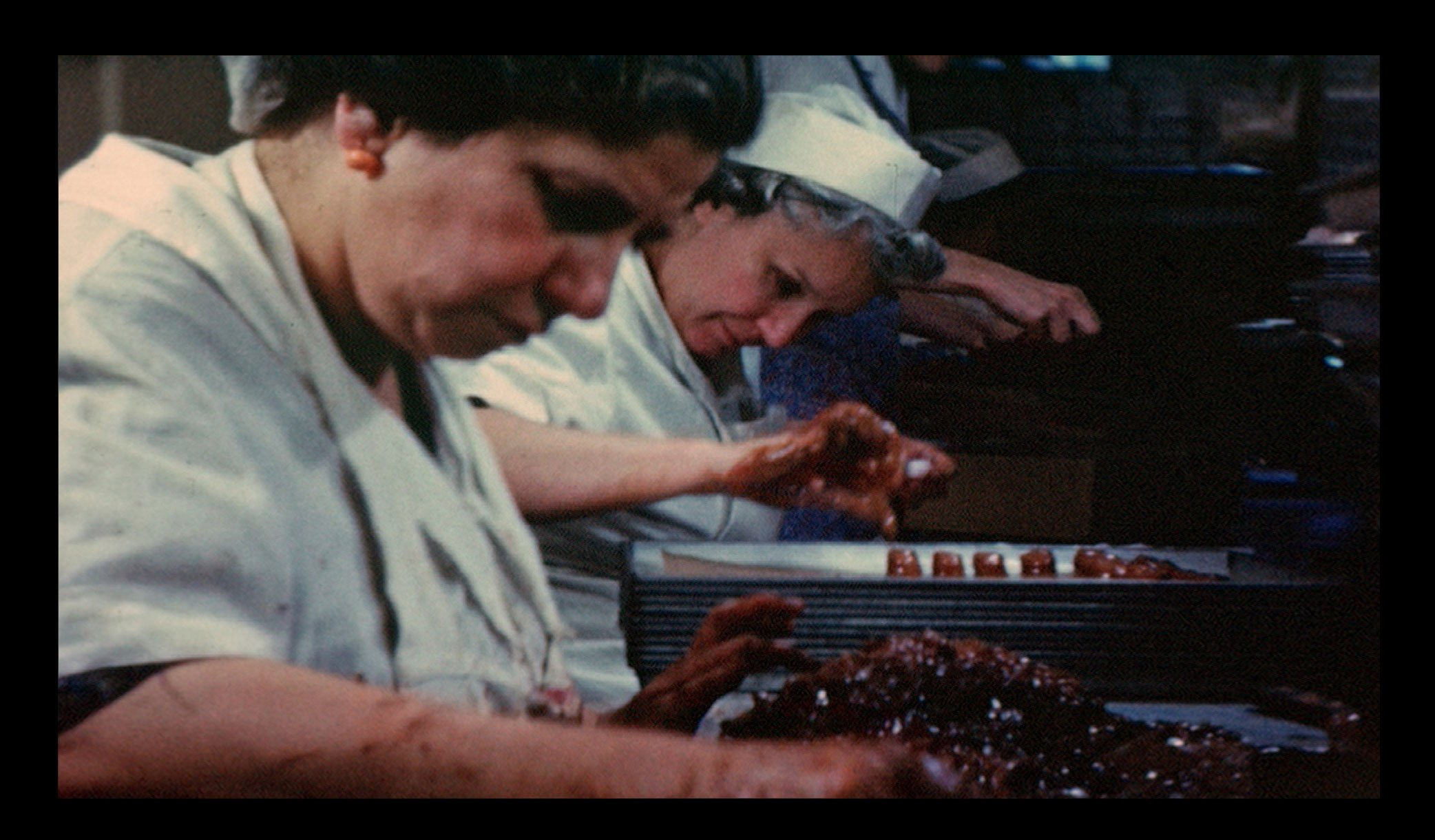 Photo of Lanzi candy workers in action